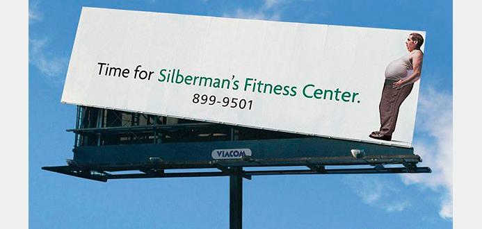 Фитнес-реклама